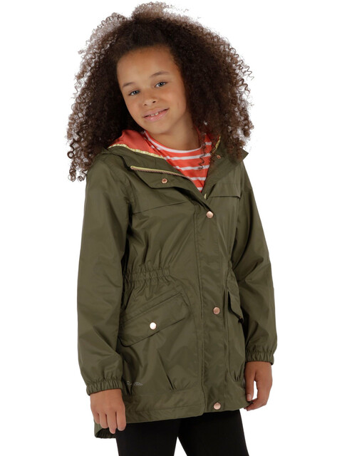 Regatta Trifonia Jacket Kids Ivy Green